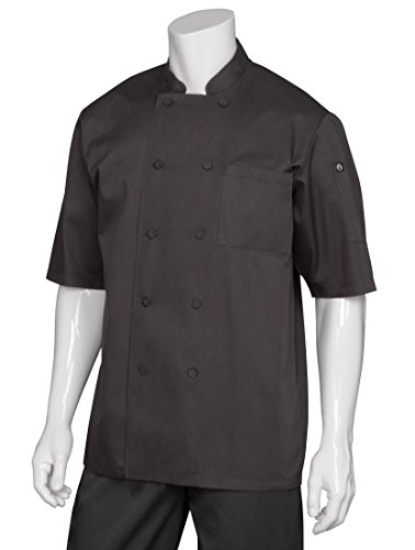 Chef Works Men's Montreal Cool Vent Chef Coat (JLCV) by Chef Works