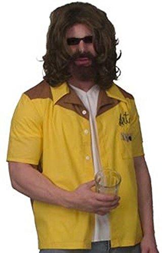 Bowling Costume Big Lebowski (The Big Lebowski The Dude Art Bowling Shirt Replica Adult)