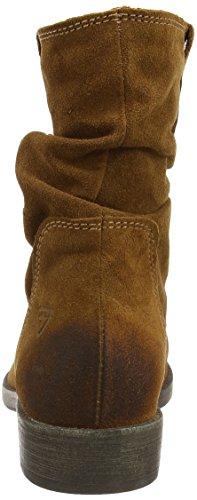 Tamaris 25476 - Botas altas de cuero mujer marrón - Braun (braun (MUSCAT 311))