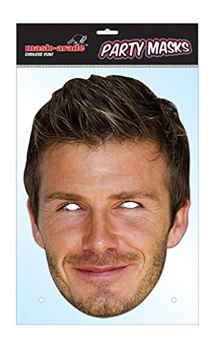 David Beckham Celebrity Face Mask (Celebrity Face Masks)