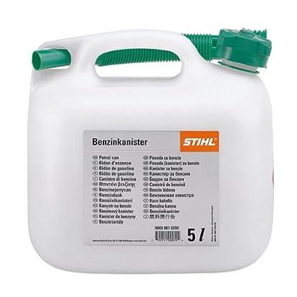a104e43158c STIHL PETROL CAN CLEAR 5L.: Amazon.co.uk: DIY & Tools