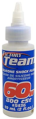 Team Associated 5436 60 Weight Silicone Shock Oil, 2-Ounce