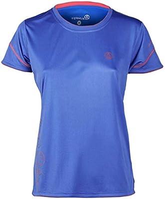 Women Ternua Bola/camiseta 1205906-2200 de senderismo para mujer camiseta de senderismo camiseta azul azul Talla:extra-small: Amazon.es: Deportes y aire libre