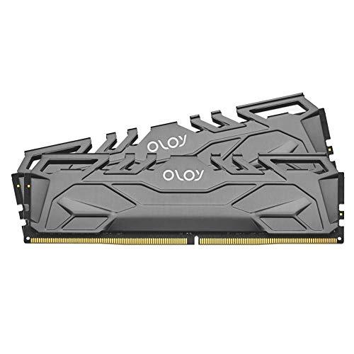 OLOy DDR4 RAM 16GB (2x8GB) 3200 MHz CL16 1.35V 288-Pin Desktop Gaming UDIMM (MD4U0832160BHIDA)