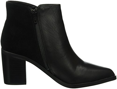 Black Black 3 01 Suede Cow Black Nappa Women's 15b66 Ankle Buffalo Boots wE8vR8
