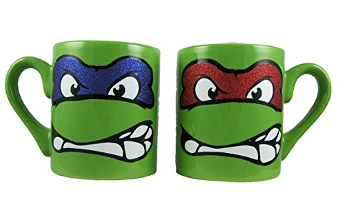 set-of-2-teenage-mutant-ninja-turtles-ceramic-mugs-tmnt-raphael-leonardo-by-viacom