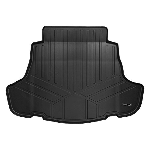 MAXLINER D0330 Maxtray All Weather Cargo Liner Floor Mat Black for 2018 Toyota Camry (All Models Including Hybrid) (Cargo Mat Model)