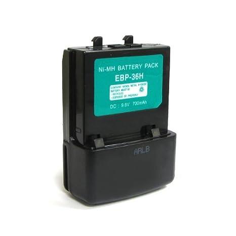 amazon com expertpower 9 6v 700mah nimh radio battery for alinco rh amazon com