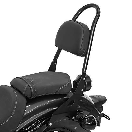 Sissy Bar+Luggage Rack for Yamaha XV 1900 Roadliner Stratoliner 06-16 Black CSM