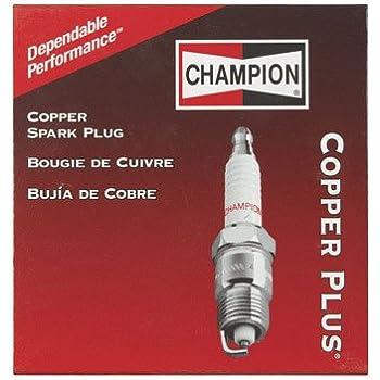 Amazon.com: Champion Paquete de 4 auténtica L86 °C Bujía ...