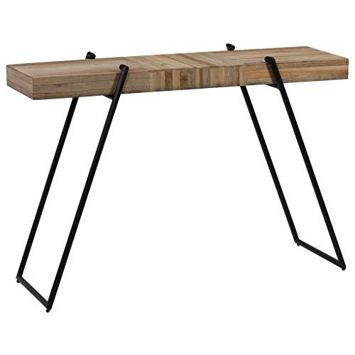 Outstanding Daonanba Console Table Hallway Furniture Reclaimed Teak Inzonedesignstudio Interior Chair Design Inzonedesignstudiocom