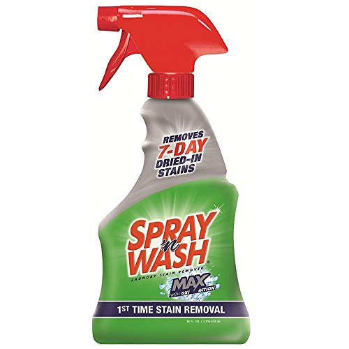 Spray 'N Wash Max Laundry Strain Remover 16 oz (Pack of 9) by Resolve