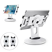 """AboveTEK Retail Kiosk iPad Stand, 360° Rotating Commercial Tablet Stand, 6-13.5"""" iPad Mini Pro Business Tablet Holder, Swivel Design for Store POS Office Showcase Reception Kitchen Desktop"""