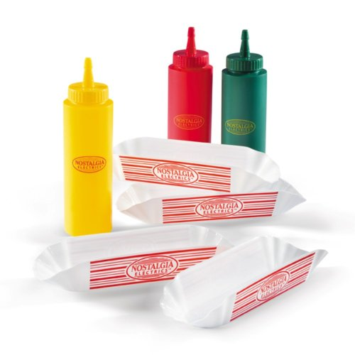 Nostalgia Electrics HDK-960 Old-Fashioned Hot-Dog Kit