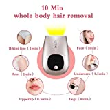 Laser Hair Removal,Permanent Hair Removal for Women and Man Painless 500,000 Flashes Facial Body IPL Hair Remover Device for Home Use