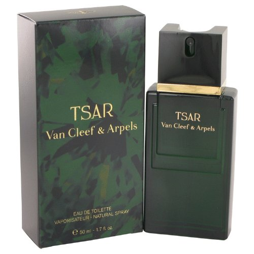 TSAR by Van Cleef & Arpels Men's Eau De Toilette Spray 1.6 oz - 100% Authentic (Cleef De Eau Cinnamon Toilette Van)