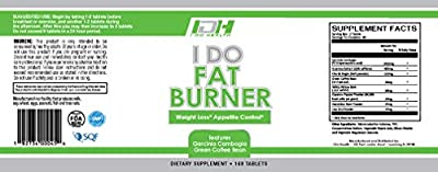 I Do Health Fat Burner, 168 Count