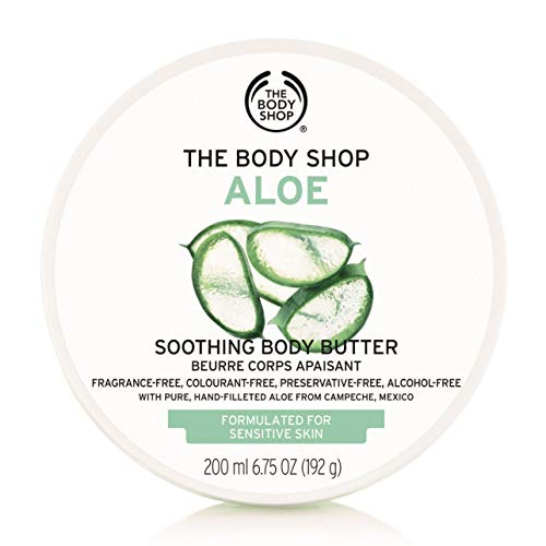 The Body Shop Aloe Body Butter, Soothing Body Moisturizer, 6.75 Oz.