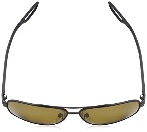 SILVER 58QS LJ PS Sonnenbrille Polarbrown Prada Black Rubber Sport Noir w4aXqxt