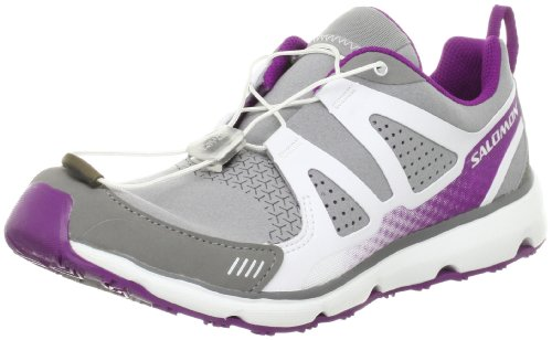S very grey Wind purple Inca Schuh Grau Salomon W Damen white Freizeit q0wtBRfz