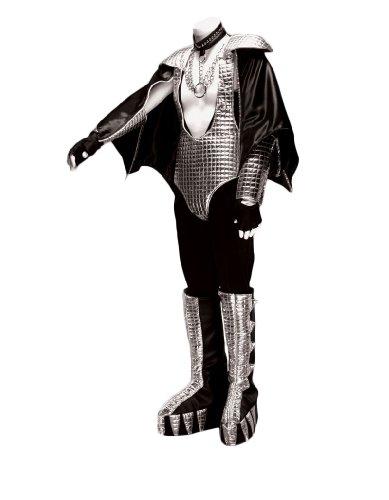 Men's 70's Rock Band Demon Costume, Large