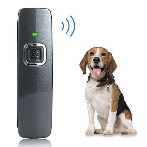 KCPPET Anti Barking Device, Ultrasonic Dog Bark Deterrent, Ultrasonic Dog Barking Control Devices, 2 in 1 Dog House…