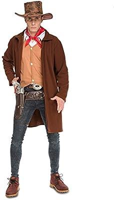 DISBACANAL Disfraz de Vaquero Pistolero Hombre - Único, L: Amazon ...