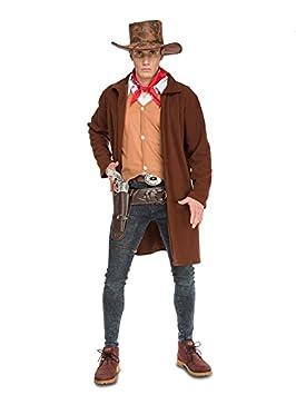 DISBACANAL Disfraz de Vaquero Pistolero Hombre - Único d1f3591962e