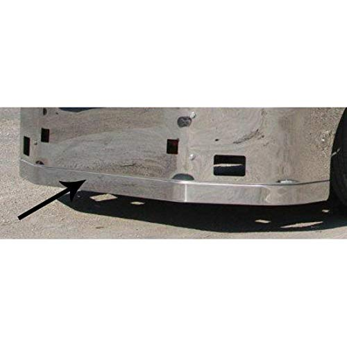 Spoiler For Valley Chrome Bumpers Fits Peterbilt 386