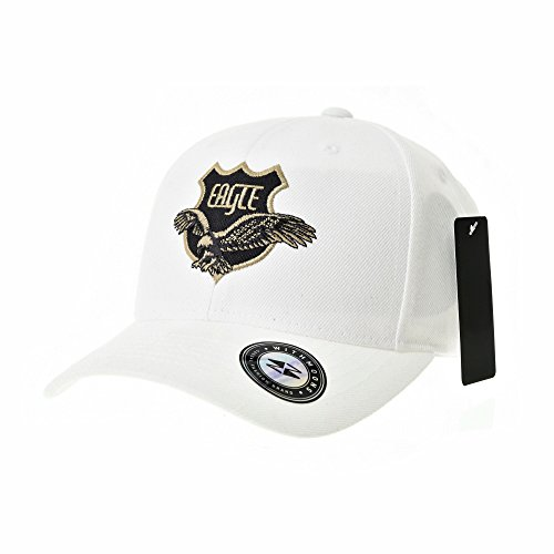 WITHMOONS Baseball Cap Eagle Shield Patch Simple Hat for sale  Delivered anywhere in Canada