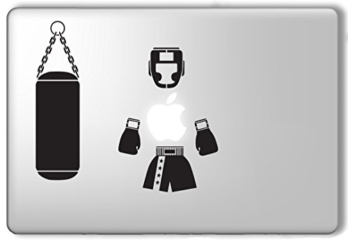 Price comparison product image Boxing Gear - Apple Macbook Laptop Vinyl Sticker Decal