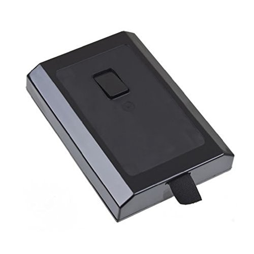 Hi-mall-Internal-HDD-Hard-Disk-Drive-Case-Shell-Cover-for-Microsoft-XBOX-360-Slim-250GB-Game-AccessoriesBlack