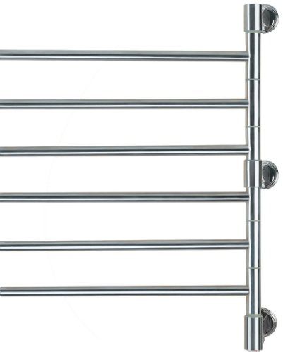 Amba J-D006 P Swivel Jack 22-Inch x 29-Inch Towel Warmer, Polished - Freestanding Stainless Steel Heater