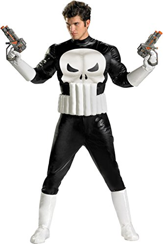Marvel Adults Punisher Muscle Costume