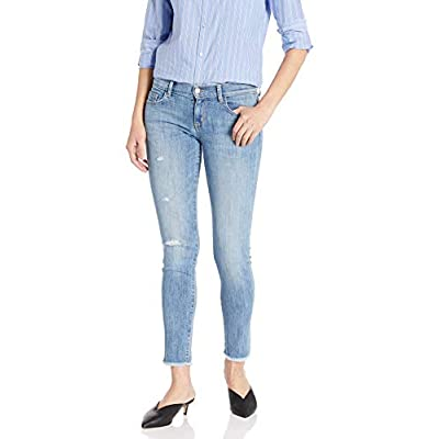 SIWY Women's Sara Low Rise Skinny Jeans in The Look of Love: Clothing