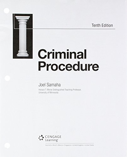 Bundle: Criminal Procedure, Loose-Leaf Version, 10th + MindTap Criminal Justice, 1 terms (6 months) Printed Access Card