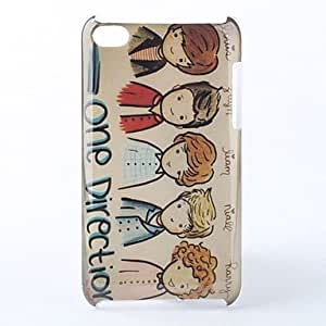 Cartoon Pattern Hard Case for iPod Touch 4