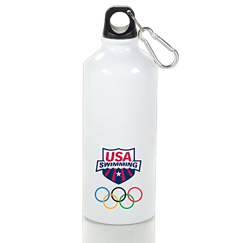 USA Swimming Team Logo 2016 Rio Summer Olympics Brazi Logo  Water Bottle