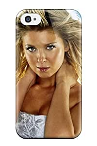 Awesome Tara Reid Christmas Desktop Flip Case With Fashion Design For Iphone 4/4s