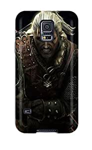 BwbeaBr6346Jznnr DavidEr Awesome Case Cover Compatible With Galaxy S5 - The Witcher