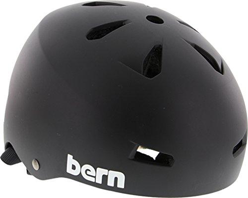 Bern Macon Matte Black [Large] Skateboard (Macon Skate Helmet)