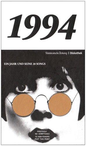 50 Jahre Popmusik - 1994. Buch und CD. Ein Jahr und seine 20 besten Songs