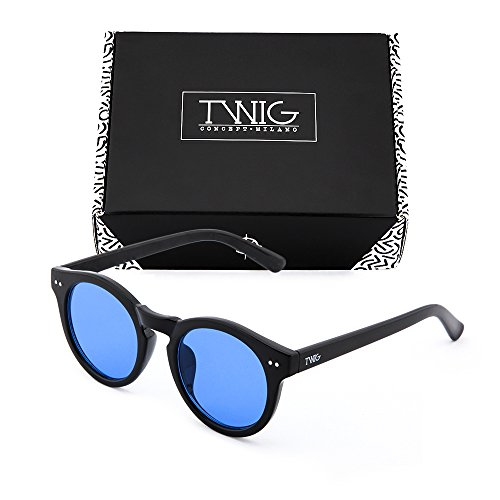 espejo Gafas mujer degradadas Azul de sol TWIG FRIDA Negro r1RYFIrq