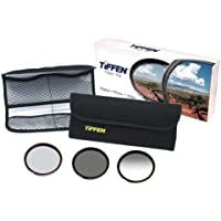 Tiffen 58mm DV Select Filter Kit 3, Neutral Density 0.6, Ultra Circular Polarizing and Black Promist 1/4 Filters