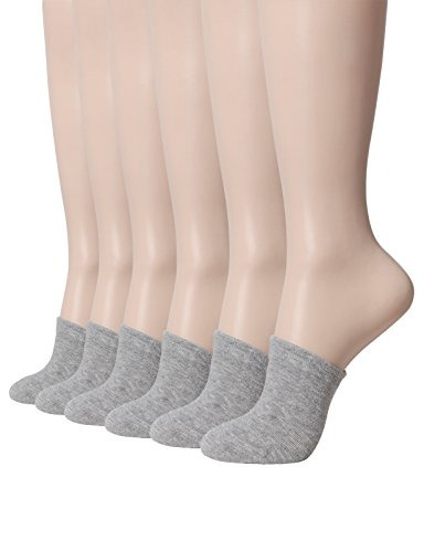 OSABASA-Womens-Cotton-Toe-Topper-3-Pack-or-6-Pack