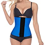 Dilanni Women's Latex Sport Girdle Waist Training Corset Waist Shaper