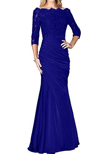 Estuche azul Topkleider para real mujer Vestido 8SSw1