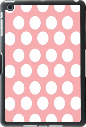 Rikki Knight Light Pink Polka Dots Design iPad Mini Smart Case for the Apple iPad - Skin Pale Best Colours For