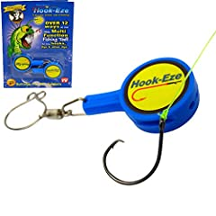 OVER 12 WAYS TO USE THIS MULTI FUNCTION FISHING TOOL! VISIT OUR YOUTUBE CHANNEL TO FIND OUT MORE.- Hook-Eze helps guard against painful injuries & torn upholstery. Ideal for travelling & storing fully rigged rods, it even comes comple...