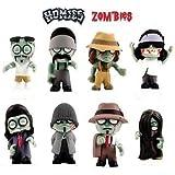 "Homie Zombies Wave #1 Set of 8 Gangster Vinyl Miniature 2/"" Figures Toys FP20"